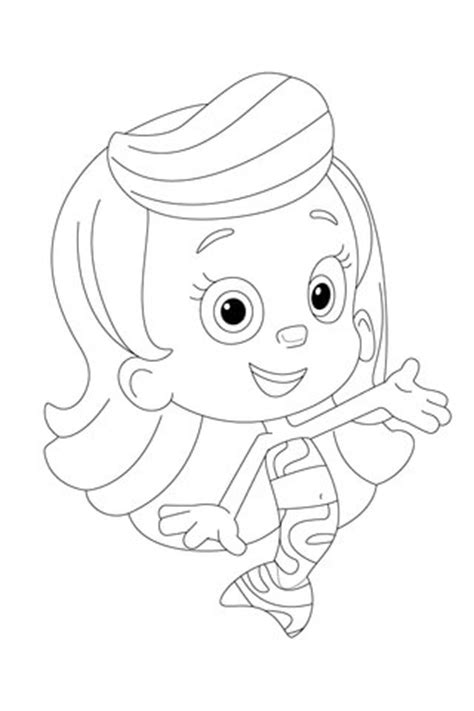 molly  presenting  coloring page  printable coloring pages