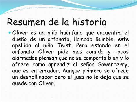 Oliver Twist Resumen Libro by Oliver Twist