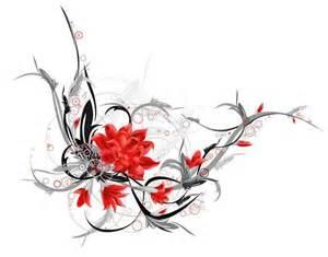 Tribal Lotus Flower Tattoo Design