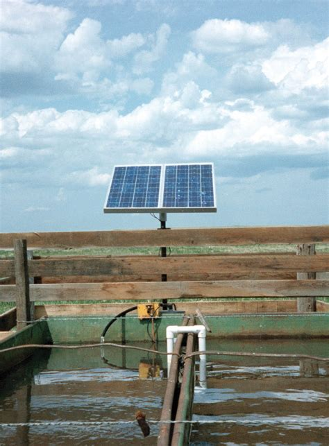 solar powered water pumping systems  livestock part
