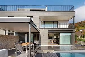 Wandverkleidung Holz Aussen : das einfamilienhaus architektenh user aussen design idee haus dekoration ~ Sanjose-hotels-ca.com Haus und Dekorationen