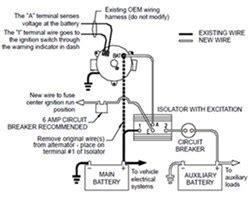 How Wire Deka Battery Isolator Etrailer