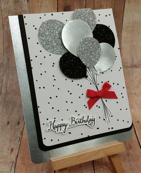 sparkly happy birthday balloons  images handmade