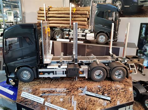 Volvo Fh16 2019 by Tamiya 56360 Volvo Fh16 Globetrotter 750 6x4 Timber At
