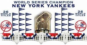26 Time World Series Champion New York Yankees ...