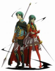 Ephraim and Eirika from Fire Emblem:Sacred Stones. Another ...