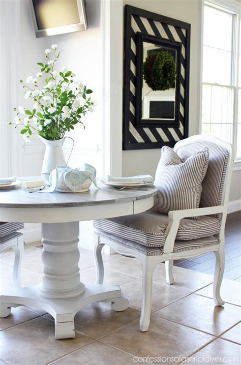diy dining table makeovers  afters  budget