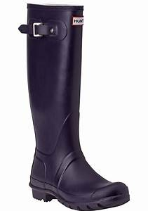 Hunter Original Wellington Rain Boot Purple in Purple ...