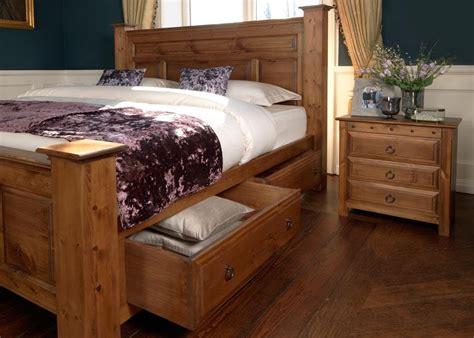 large solid wooden bed  ambassador   ft wide