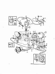 Volvo Penta Exploded View    Schematic Electrical System And Instrument  A Aq140a