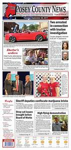 September 26, 2017 - The Posey County News by The Posey ...