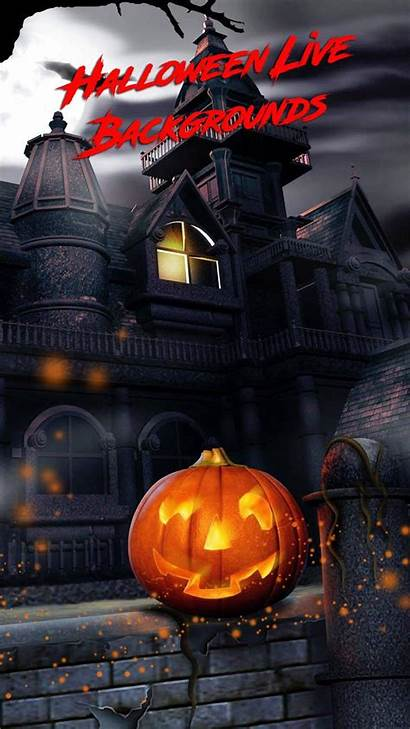 Halloween Backgrounds Scary Android Apkpure Screen Poster