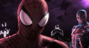 """Spider-Man: Shattered Dimensions"" 4th Dimension Black ..."