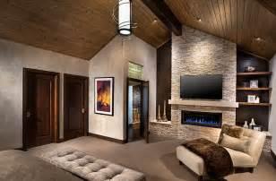 Bedroom Focal Wall Ideas tv above fireplace design ideas