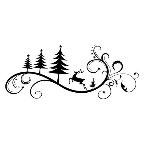 Freesvg.org offers free vector images in svg format with creative commons 0 license (public domain). Christmas Ornament Deer Tree graphics design by ...