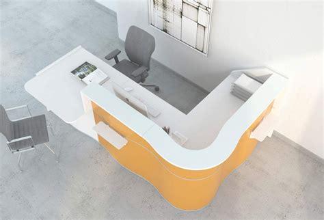 banque de bureau meuble accueil bureau wave banque d 39 accueil contemporaine