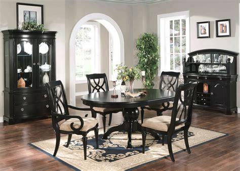 black dining room table formal dining sets