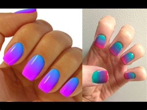 Ombre Nails Color Combinations Yamsixteen