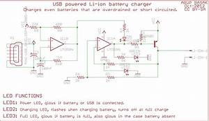 Lithium Ion Battery Charger Schematics  Lithium  Free Engine Image For User Manual Download