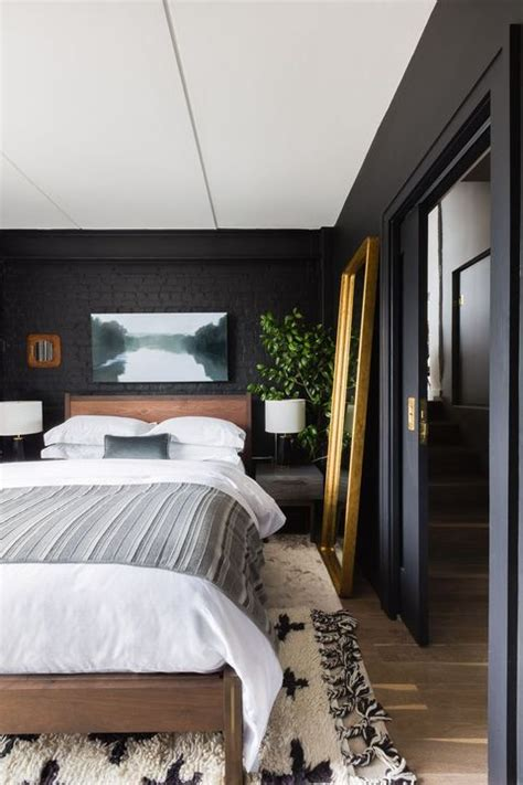 Decorating Ideas For Black Bedroom by 35 Black Room Decorating Ideas How To Use Black Wall
