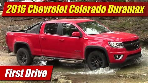Colorado With A Duramax by 2016 Chevrolet Colorado Duramax Drive