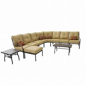 Kontiki conversation sets metal sectionals naples 10 for Naples outdoor sectional sofa