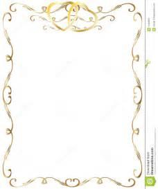 50th wedding anniversary program templates wedding anniversary border invitation stock image image