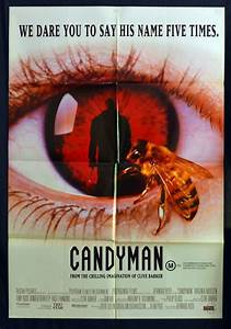 All About Movies - Candyman 1992 movie poster one sheet ...