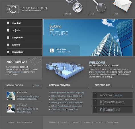 Bid Websites Construction Company Website Template 10249