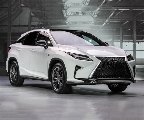 2017 Lexus Rx350 Means Extravagant Styling With Premium