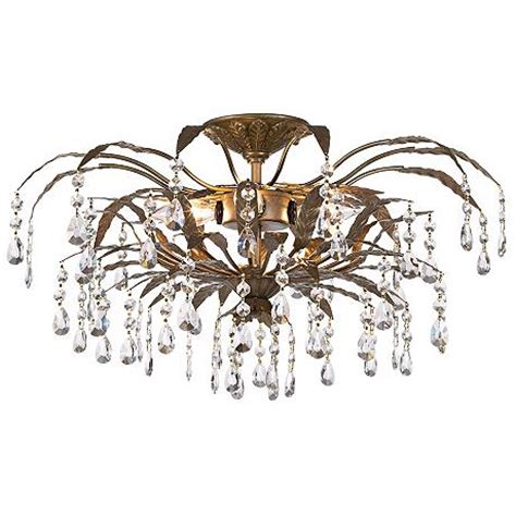 kathy ireland 21 quot wide garden ceiling light fixture