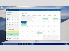 A closer look at the new Calendar app on Windows 10