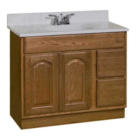 Bathroom Vanities At Menards by Pace King Series 36 Quot X 18 Quot Vanity With Drawers On