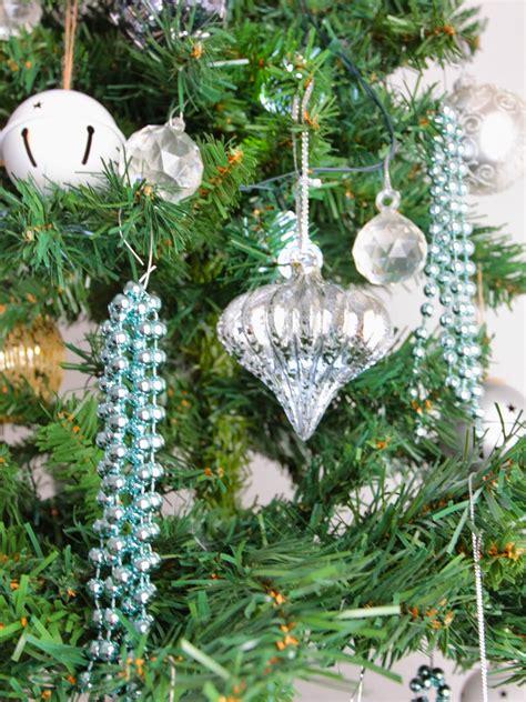 diy christmas beaded ornaments basil and chaise