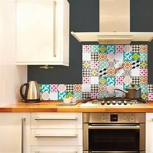 Stickers Carreaux Cuisine : stickers imitation carrelage panneau imitation carrelage ~ Preciouscoupons.com Idées de Décoration