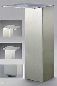 Edelstahl Vierkantrohr 80x80 : st tzfuss 80x80 tischbein edelstahl innenliegende rolle h 87cm tischbeine 41154 ebay ~ Eleganceandgraceweddings.com Haus und Dekorationen