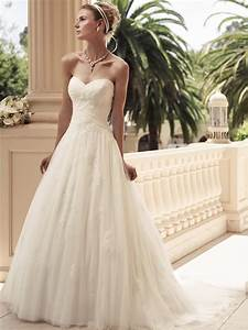 sweetheart a line casablanca bridal gown 2108 With casablanca a line wedding dress