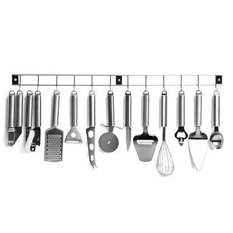 barre 12 ustensiles de cuisine en inox men110 achat vente fouet spatule cuill 232 re sur