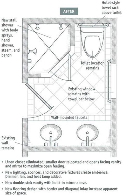 6x8.5 bathroom layout   Bathrooms   Pinterest   Bathroom