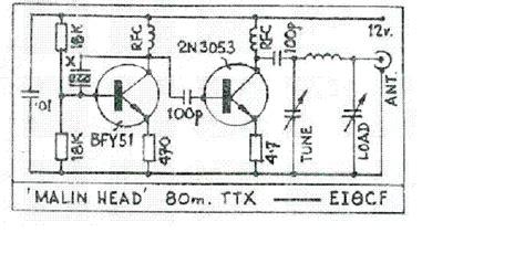 Radio Circuits Blog Meter Qrp Transmitter