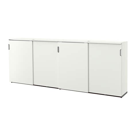 galant storage combination w sliding doors white ikea