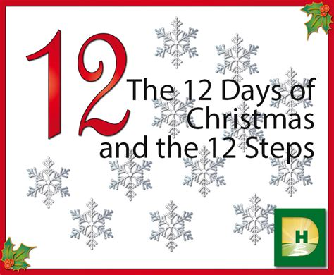 The 12 Days Of Christmas And The 12 Steps