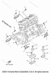 Yamaha Waverunner 2012 Oem Parts Diagram For Engine Mount