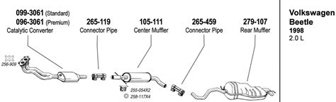 Cat Eye Wiring Diagram 50cc by 2000 Vw Passat Exhaust System Diagram Circuit Wiring And