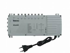 Telefonkabel Als Netzwerkkabel : televes multischalter mit netzteil ms94ng online kaufen ~ Watch28wear.com Haus und Dekorationen