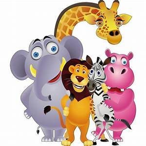 Stickers Animaux De La Jungle : sticker enfant animaux de la jungle 823 stickers muraux enfant ~ Mglfilm.com Idées de Décoration