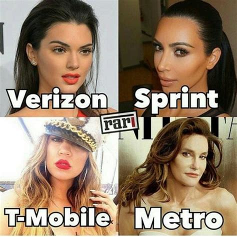 T Mobile Meme - verizon sprint t mobile metro