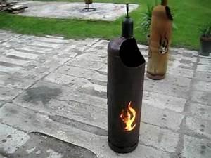 Gasflasche Als Feuerstelle : feuertonne flammendesign 33kg gasflasche terrassenfeuer feuerkorb flammen youtube ~ Sanjose-hotels-ca.com Haus und Dekorationen