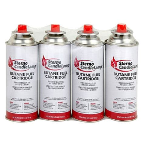 sterno candlel butane fuel 8 oz 4 pk sam s club