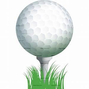 Clip art golf ball on tee clipart kid - Clipartix